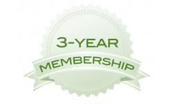 Three Year Membership Dues